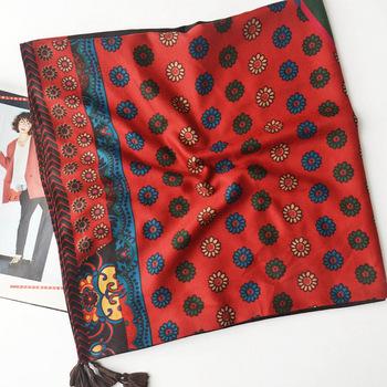 Online Wholesale Shop Hooded Scarf Crochet Pattern Head Scarf Silk
