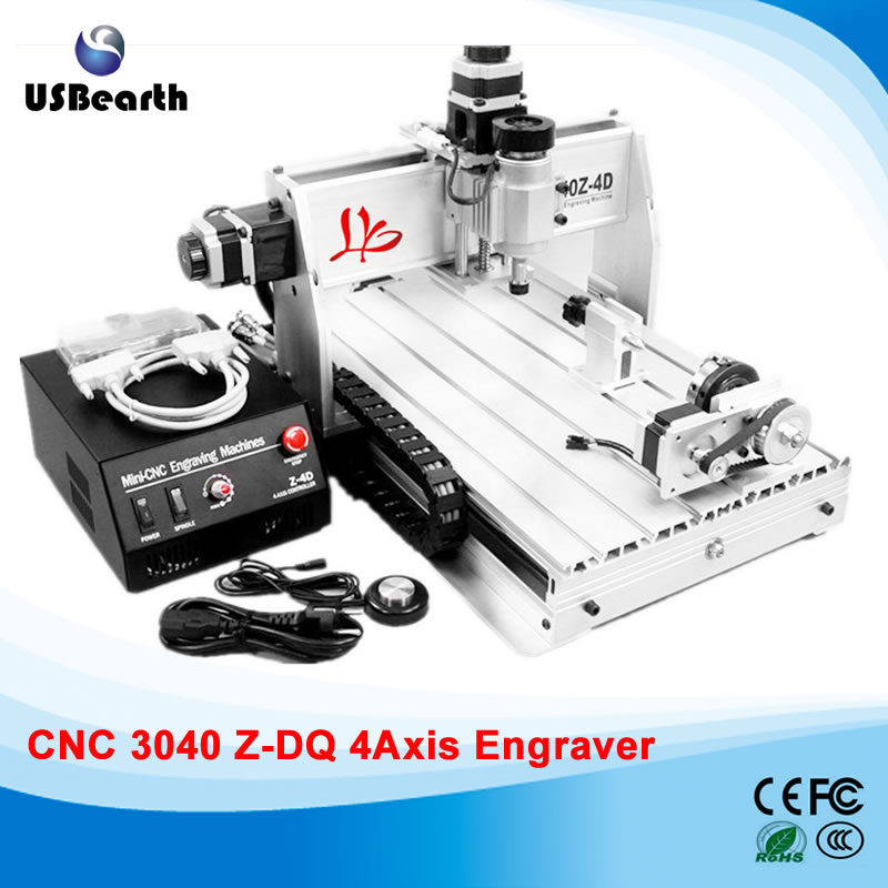 3D design 4 axis <strong>CNC</strong> 3040 <strong>CNC</strong> Engraving Machine,<strong>CNC</strong> Router with collet and tool bits