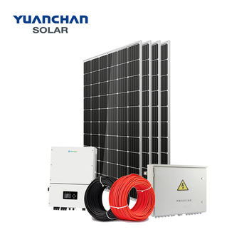YuanChan Solar Panel System 5KW Solar System On Grid Home Solar Power System
