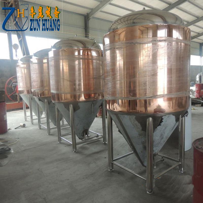 red copper fermenter