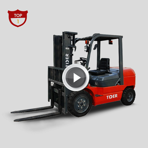TIDER Forklift truck 3 ton Diesel small forklift with attachments