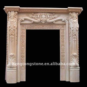 Hand Carved Marble Stone Decorative Door Frame Design