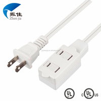ZJ-2Z YUYAO ZHENJIA (UL E325763) Indoor Extension cord, power supply cord