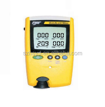 4 gases in 1 detector CO O2 H2S LEL multi gas analyzer