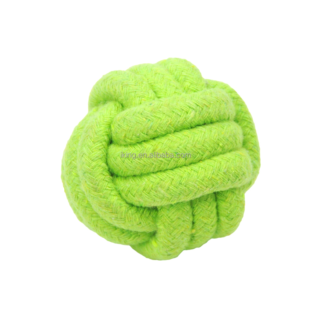 cotton rope ball cat soft toy rope ball cat dog pet toy
