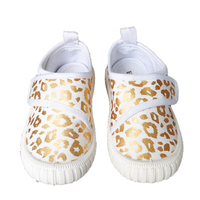 E51-3 Leopard Print Popular New Design Children Canvas Shoes Summer Spring Shoes