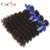 "China goods online cacin stock free shipping products peruvian human hair,8""to 32""Length real cuticle aligned hair"