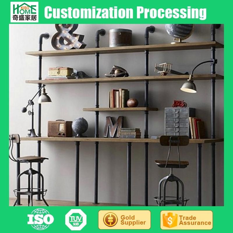 European Style Wrought Iron Wood Display StandRestoring Special New Wrought Iron Display Stands