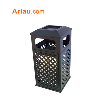Arlau indoor waste bins,outdoor metal dustbin