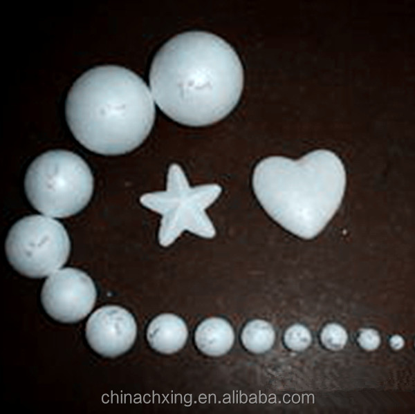 New Stype Christmas Tree Decorations Polystyrene Balls Heart Shape Ornaments
