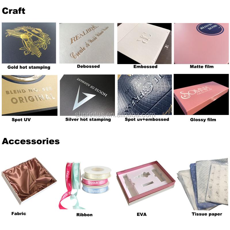 निर्माता थोक कस्टम लक्जरी कागज पैकेजिंग उपहार बॉक्स