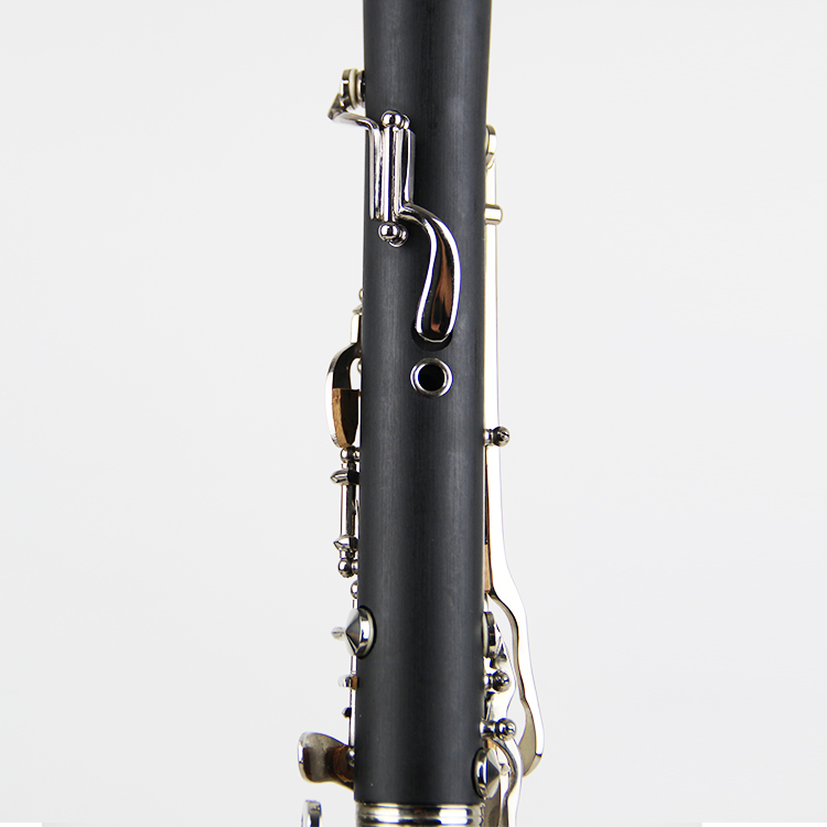 Professional Performance Level 17 คีย์เงินโทน Bb Ebony ไม้ Clarinet