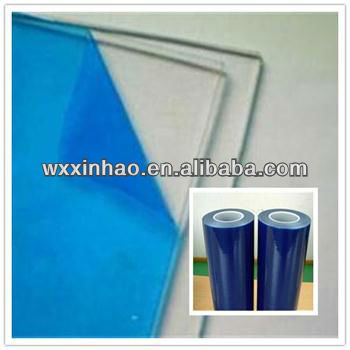 Professional soft plastic protective film for glass