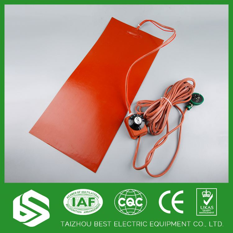 Perfect quality electric heater pad silicone rubber heater