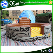 Hot sale inflatable mechanical bull riding toys for sale