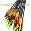 Archery Arrows x 10 compound recurve bow field or Hunting fibreglass 65lb