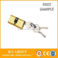 cheapest price interior door cylinder lock and high quality interior lock body cylinder - D