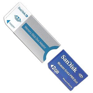 Sandisk Memory Stick PRO DUO 2GB (bulk)