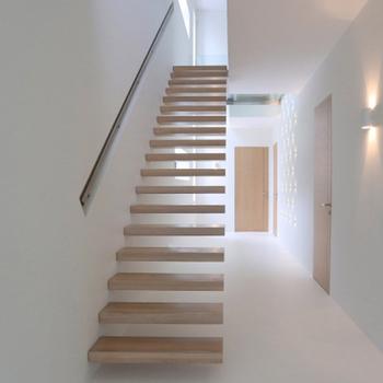 Thaïlande Chêne Marches D\'escalier En Bois/en Bois Moderne Escaliers ...