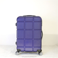 360 degree travel suitcase luggage colourful Travel Carry On Hard Luxury Abs Luggage