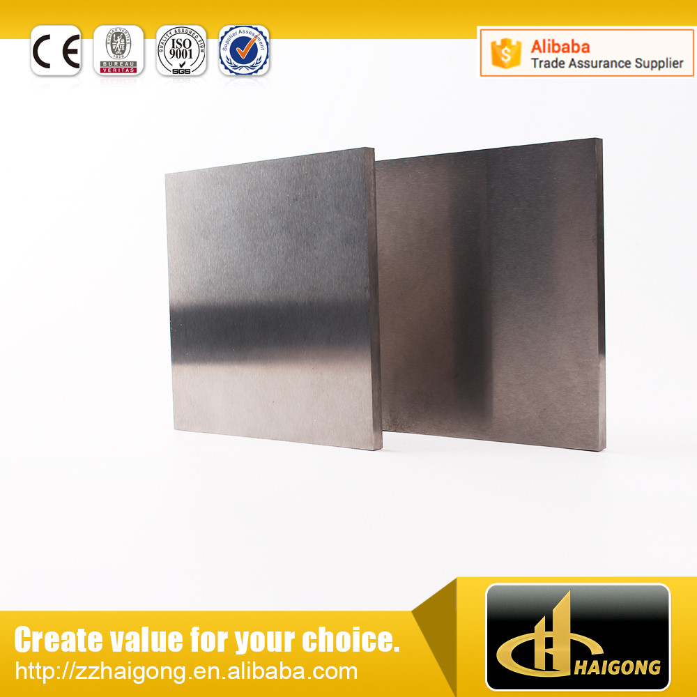 tungsten carbide blanks for sheet metal punch tool