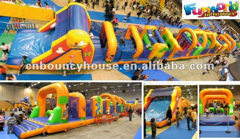 inflatable playground, new popular outdoor inflatable playground,
