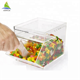 Personalized Candy Dispenser/ Clear acrylic candy bins box