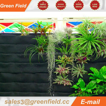 Flora Felt Living Wall Planter Vertical Garden,vegetable Grow Bags,vertical  Garden Wall Pocket