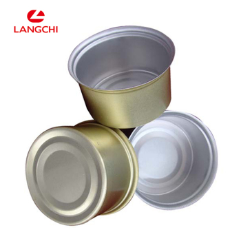 Competitive Round Tin Box High Quality Metal Tin Container