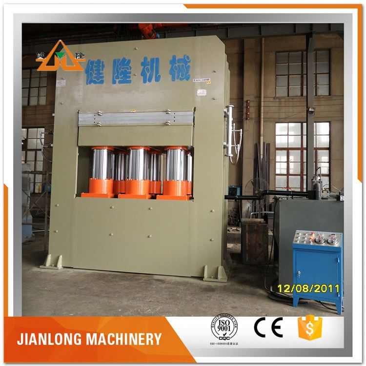 multilayer melamine laminating lanyard hydraulic plywood hot press