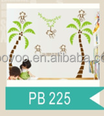 zooyooPB225PVC removable baby nursery decor art decor animal kids room decor tree wall sticker home decor family tree wall decal