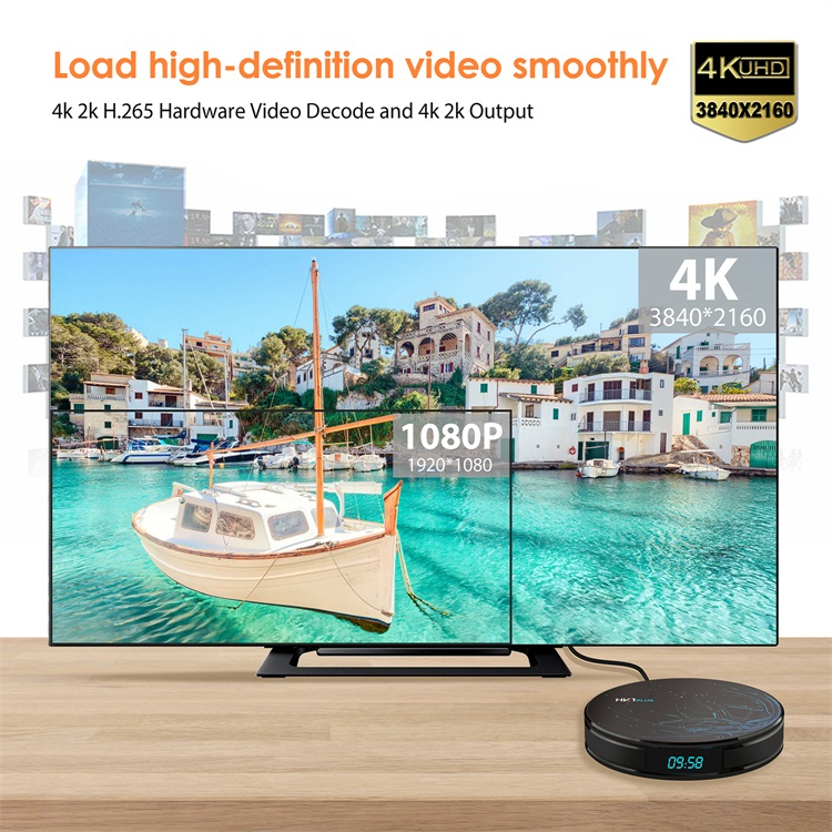 Topleo HK1 PLUS Amlogic S905X2 android 8.1 4k tv box 2gb16gb 4GB 32GB 64GB tv video smart box