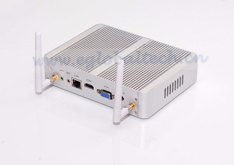 Fanless Mini PC Computer Celeron N3050 HDMI VGA LAN Windows8 Micro Nettop HTPC