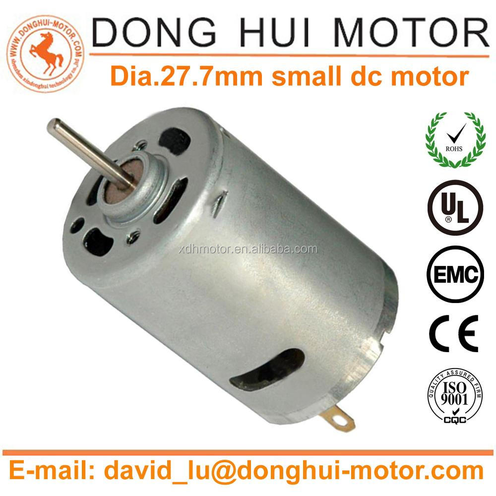 Applied in hair dryer 15V 16000RPM DC MABUCHI motor RS-385SA-2073 with high speed