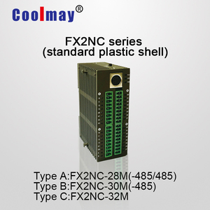Up to 16di 16do digital integrated analog plc controller with relay or transistor