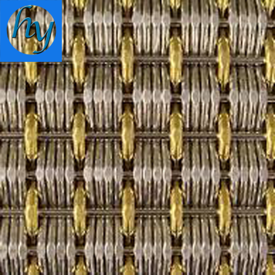 decorative metal mesh drapery for building