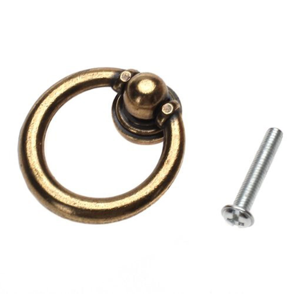 Get Quotations · OOOUSE 10x Furniture Hardware Drawer Drop Ring Pull Knob  Bronze Tone / Antique Traditional Appearance, - Cheap Antique Drawer Pull Hardware, Find Antique Drawer Pull