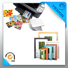 2014 eco solvent double-sided 220gsm glossy photo paper factory price