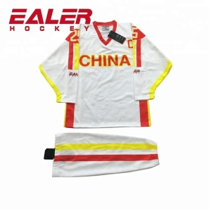 797c076da26 China Sublimation Custom Team Set Ice Hockey Jerseys With Your Design
