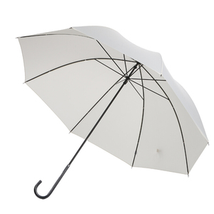 190t Polyester Material 23 Inches Spring Straight Curved Handle Umbrella