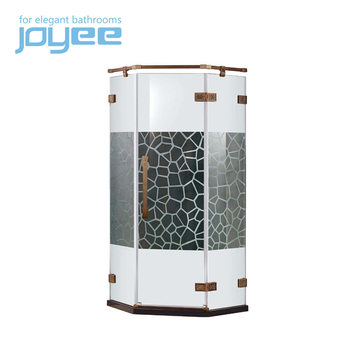 JOYEE sliding glass shower doors glass shower walls rain glass shower door