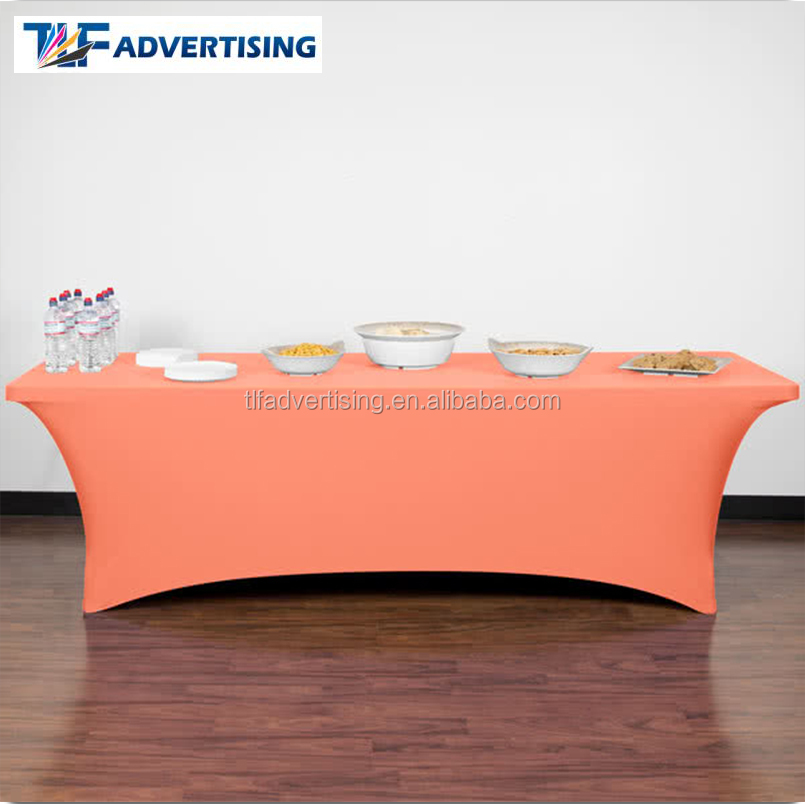 Imprinted stretch elastic table cloth ,table cover and table skirt
