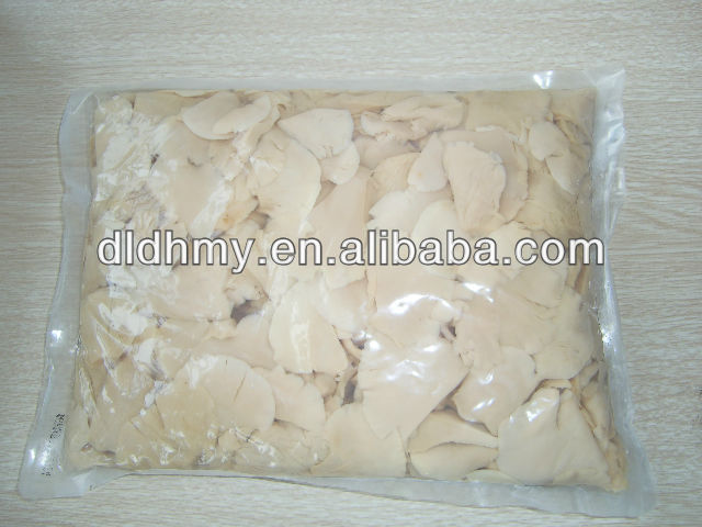 2012 Dalian Donghemaoyuan Boiled Organic King White Oyster wild mushroom in bags