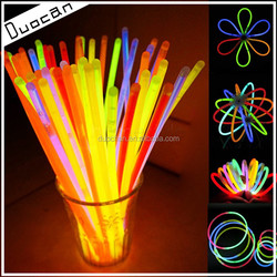 hot selling 8inch glow stick of party