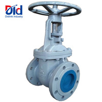 "Cast Iron Hand wheel High Pressure 4"" Inch 10k FC200 Flanged Butt Weld With Prices Water Gate Valve"
