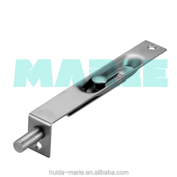 Charmant Door Building Hardware Stainless Steel Automatic Hidden Door Flush Bolt Lock  Conceal Button Bolt