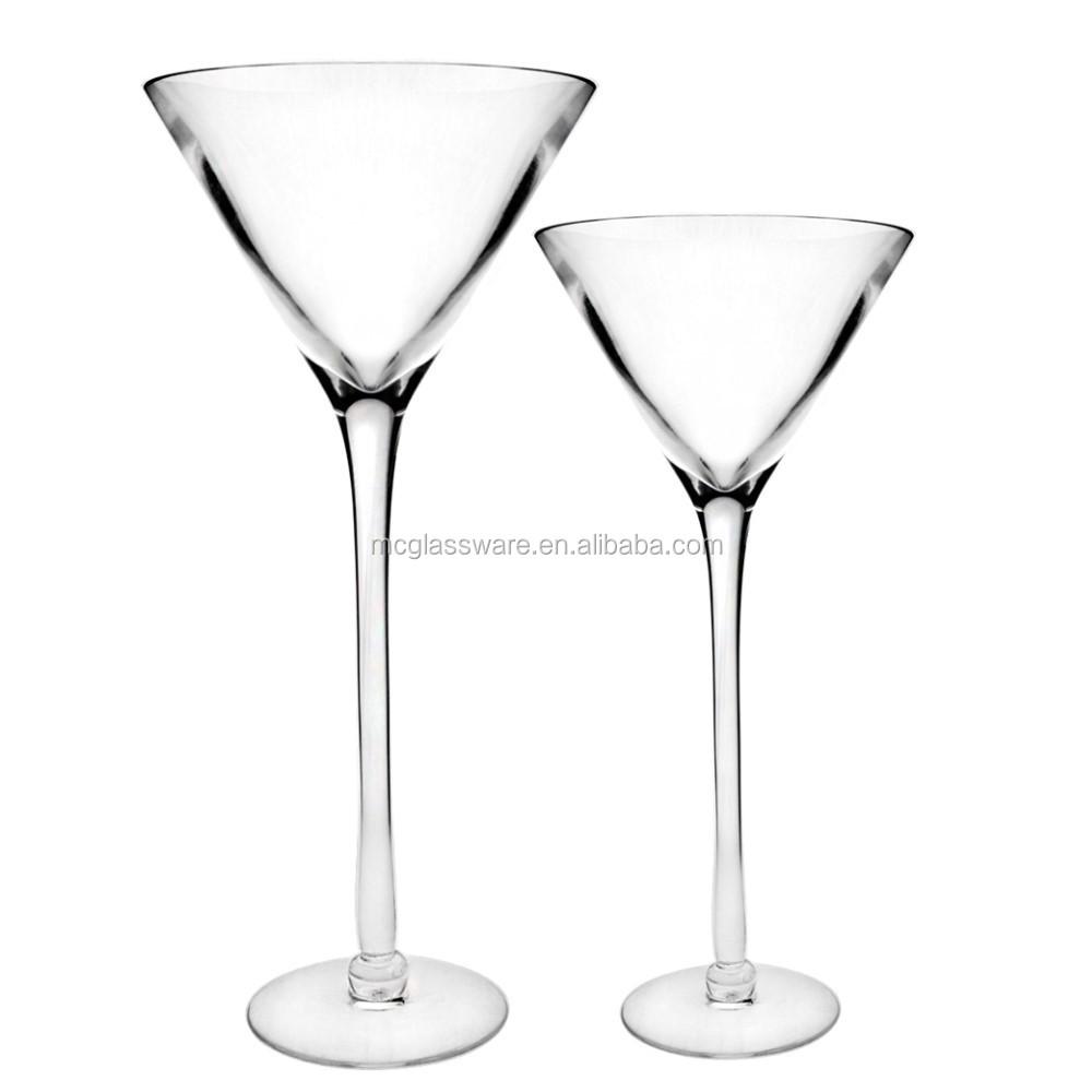 gros pas cher d coration de mariage haut de fleurs martini vase vases en verre cristal id de. Black Bedroom Furniture Sets. Home Design Ideas