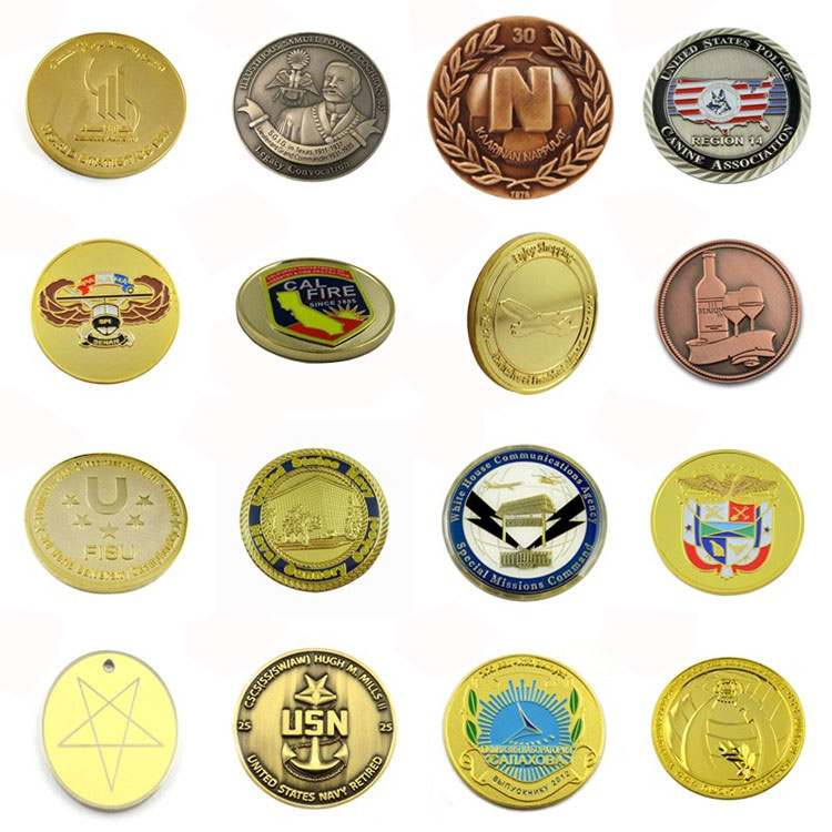 Promotional Custom Metal Classical Antique Copper Coin