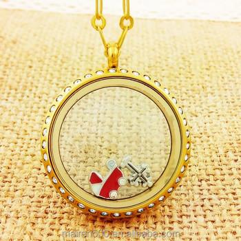 Floating lockets custom name necklace simple gold pendant design floating lockets custom name necklace simple gold pendant design aloadofball Choice Image