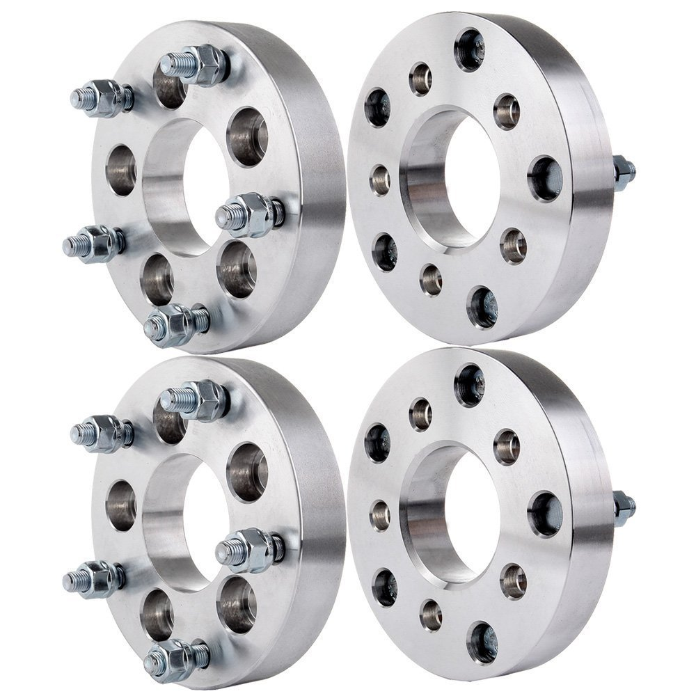 "ECCPP Wheel Spacers (4) 1"" (25mm) 5x150 For Lexus LX470 LX570 Toyota Tundra Sequoia Land Cruiser (14x1.5)"